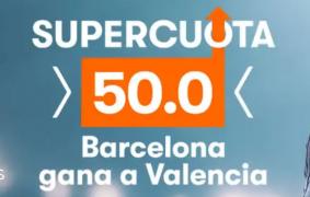 Barcelona - Sevilla cuota 50